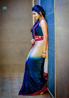 Beautiful Girl Photo, Beautiful Girl Indian, Most Beautiful Indian Actress, Beautiful Saree, Beautiful Actresses, Indian Photoshoot, Saree Photoshoot, Saree Poses, Anupama Parameswaran