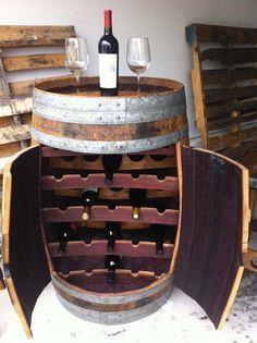 Barrique – nábytek z dřevěných sudů