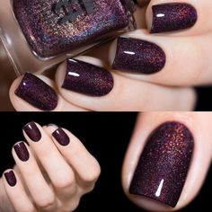 Unbiased Report Exposes The Unanswered Questions On Pretty Nails Acrylic Cla. - - Unbiased Report Exposes The Unanswered Questions On Pretty Nails Acrylic Classy Beautiful 16 - Fancy Nails, Cute Nails, Pretty Nails, My Nails, Plum Nails, Dark Purple Nails, Dark Nails, Colorful Nail Designs, Nail Art Designs