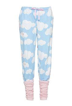 Image for Cloud Print Legwarmer Pant from Peter Alexander Cute Pants, Comfy Pants, Best Pajamas, Pajamas Women, Pants For Women, Clothes For Women, Lingerie Sleepwear, Pjs, Leg Warmers
