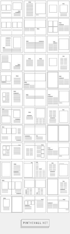Check out new work on my @Behance portfolio  - blank brochure template