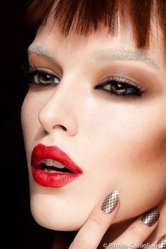 fashion beauty; make up and nail