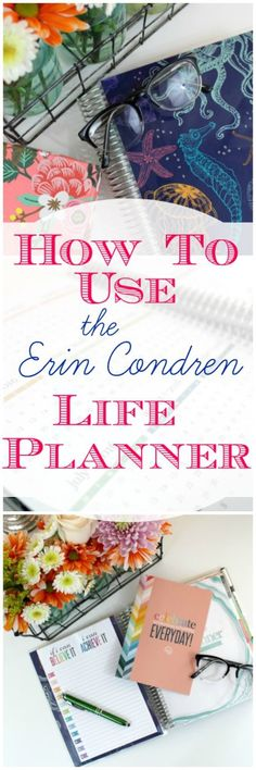 How to Use the Erin Condren Life Planner. I've decided to purchase another one…