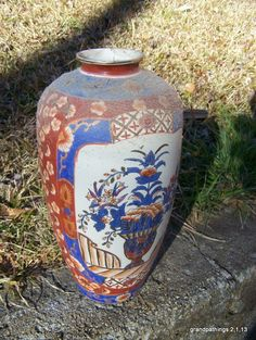 Vase Vintage Classic Oriental Vase Old Japan Edit item   Reserve item    	$165.00 DISCOUNTS  10% off w/ $500.00 spent