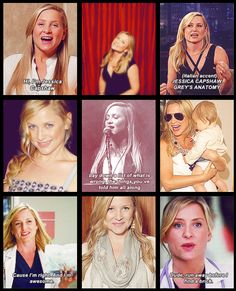 Jessica Capshaw <3FAVORITE GREYS ANATOMY CHARACTER please dont kill her or make or go away :( <3