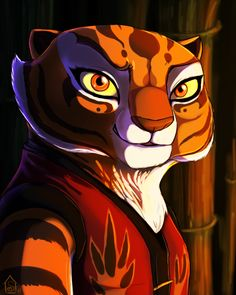 Master Tigress Deviantart Pictures to . Dreamworks Animation, Disney And Dreamworks, Animation Film, Kung Fu Panda 3, Po And Tigress, Snake Dragon, Animé Fan Art, Dragon Warrior, Childhood Movies