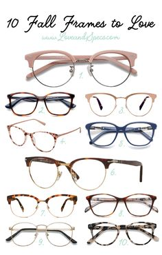b8dc8490e0 Aug 25 The Best Fall Glasses Frames for Women