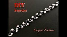 Pearl Vine Bracelet (DIY) Super easy tutorial 👍🏻