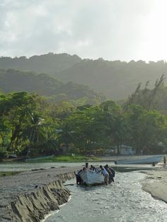 A fishing village of Grande Riviere. It is situated on the north coast of Trinidad