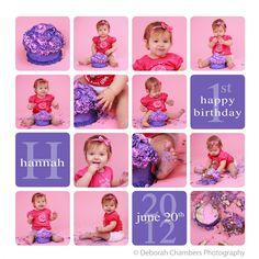 Newborn Story Board  Deborah Chambers Photography  Deborah
