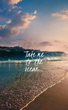 Wallpaper quotes, summer wallpapers for iphone, cute wallpapers, ocean ocea Beach Quotes, Ocean Quotes, Beach Sayings, Nature Quotes, Frases Tumblr, Ocean Waves, Ocean Beach, Ocean Pics, Nature Beach