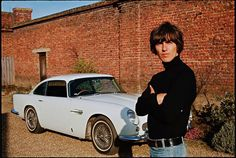 vintage everyday: Rock Stars Cars – 23 Awesome Pictures of Music Stars With Their Cool Motors