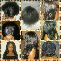 Relaxer, Color & Sew In Installation