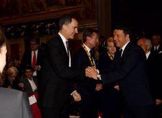El Rey Felipe VI asistió a la entrega del Premio Carlomagno al Papa Francisco.  06-05-2016