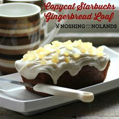 Copycat Starbucks Gingerbread Loaf by Noshing With The Nolands