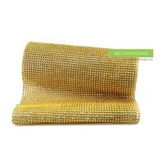 10 x 5 Yards Gold Diamond Rhinestone Mesh Table Runner Wraps Ribbons Bling for Wedding Centerpieces Decorations Crafts Cupcake Decor * Check out the image by visiting the link.(It is Amazon affiliate link) #instafashion