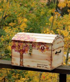 wedding card box/ keepsake chest