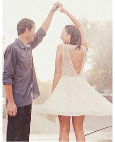 Wedding&rain