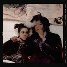 Throwback: Madonna and Jean Michel Basquiat in the Early 80s. Image from lipstickalley.com