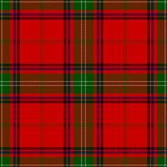 Clan Seton Tartan as published in the Vestiarium Scoticum, Scotland