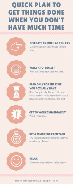 How to manage your time when you're busy and overwhelmed. #timemanagement #productivity #planning