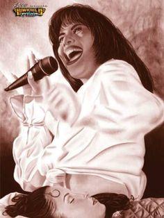 Selena Quintanilla Art Piece