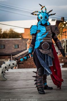 AwesomeValka cosplay from how to train your dragon 2 bySmallfry Creations Photo byKevin Pack PhotographyandJames Bissett Photography
