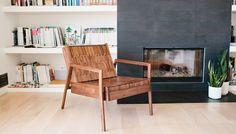 Nachgiebig: Holz-Polster »Sitskie« von Adam Friedman