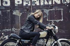 Black Arrow Wild & Free Motorcycle Jacket - Silodrome