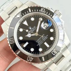 ROLEX Sub-mariner Black Color 904L 2824 JF - Best Price & High Quality Cheap Rolex Watches
