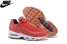 the latest 6edf0 28275 Mens Nike Air Max 95 Running Shoes Red White 538416-614,Nike-Air