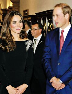 The Duke and Duchess of Cambridge at an event in Wellington, New Zealand, April 2014 #katemiddleton