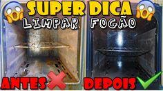 SUPER DICA PRA LIMPAR FORNO E DEIXA-LO COMO NOVO SEM ESFORÇO