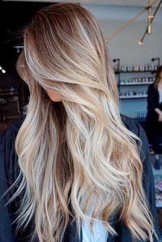 60 Most Popular Ideas for Blonde Ombre Hair Color Here are adorable blonde ombre hair styles in different tones: from ash to black to bold colorful locks! Get ready to make a statement with these fresh new ombre hairstyles! http://glaminati.com/ideas-for-blonde-ombre-hair/
