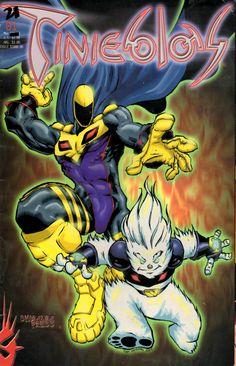 Tinieblas #1. Mexican comic book. 2000