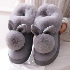 800+Sold, Hot Sales!! The adorable bunny ears combined with ultra-soft plush fuzziness makes these slippers the ultimate go-to this winter! Cozy and cute, you'll never want to take these off as you Netflix n' chill! Get yours Before its SOLD OUT! Enjoy this New Year with Neulons.com Grab this OFFER Now!! Fluffy Rabbit, Fluffy Bunny, Bunny Plush, Rabbit Ears, Bunny Slippers, Cute Slippers, Cotton Texture, Womens Slippers, Shoes