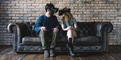 The World's First Virtual Reality Bar Is Here, So Say Goodbye To Socializing Chesterfield Chair, Virtual Reality, First World