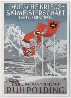 RUHPOLDING - DEUTSCHE KRIEGS-SKIMEISTERSCHAFTEN 1940