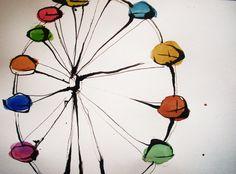 ferris wheel. by *PeanutToTheButter on deviantART