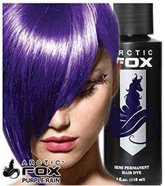 arctic fox purple rain on dark hair - Google Search