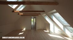 If you are lucky enough to have an attic in your home but haven't used this space for anything more than storage, then it's time to reconsider its use. An attic Loft Conversion Bedroom, Attic Conversion, Loft Conversions, Attic Master Bedroom, Bedroom Loft, Attic Bathroom, Attic Loft, Loft Room, Attic Renovation