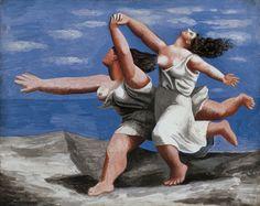 Picasso, Deux femmes courant sur la plage (Musée Picasso, Paris).