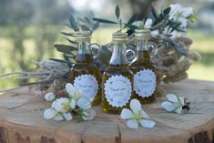 Unique Weddinng Gifts, Olive Oil Favors