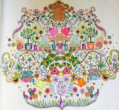 Jardim secreto meus trabalhos secret garden my works