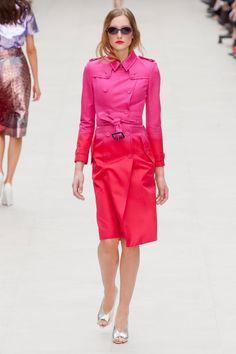 Burberry Prorsum at London Fashion Week Spring 2013
