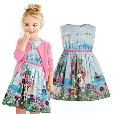 Find More Dresses Information about Girl Dress Summer New Children Vest Floral Dresses Cute Baby rabbit pattern vestidos infantis Kids Clothing QY 420,High Quality Dresses from Smile  Sky  Store  on Aliexpress.com
