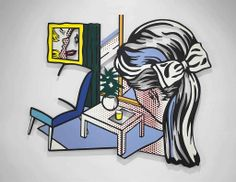 Roy Lichtenstein (1923-1997)  Woman Contemplating Yellow Cup