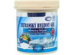 TOPVET TATRANSKÝ BYLINNÝ GÉL CHLADIVÝ 250 ml - ORTOSHOP Coconut Oil, Aqua, Jar, Water, Jars