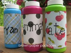 Homemade bubbles recipe...:)) |brownpaper-packages|