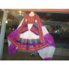 Afghan Kuchi Tribal Wear 4 Afghan Clothes, Afghan Dresses, Us Online Clothing Stores, Kashmiri Shawls, Handmade Dresses, Tribal Jewelry, Tribal Art, Afghanistan, Natural Gemstones